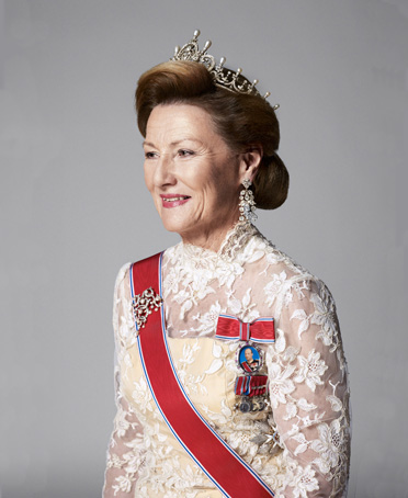 HM Queen Sonja of Norway née Haraldsen