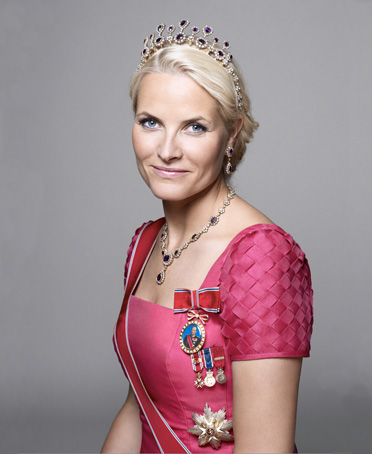 HRH Crown Princess Mette-Marit of Norway née Tjessem Høiby