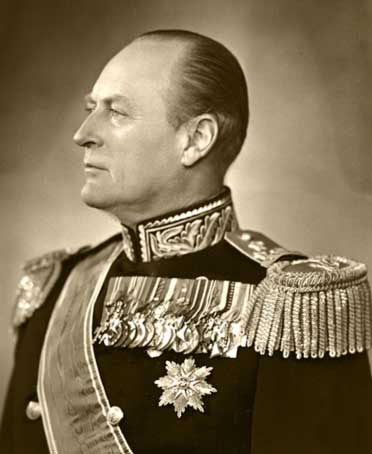 HM King Olav V of Norway