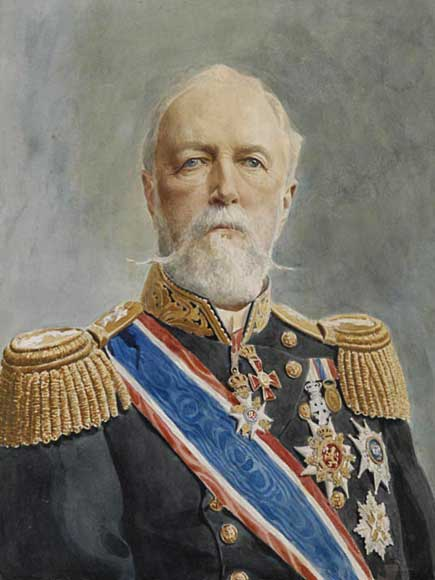 King Oscar II of Norway