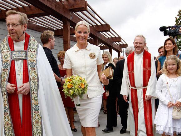 Kronprinsessen åpner sjømannskirken H.K.H. Kronprinsesse Mette-Marits kirke, Scandinavian Church and Center (Foto: Erlend Aas / Scanpix)