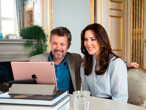 Danmarks Kronprins Frederik og Kronprinsesse Mary. Foto: Frederik Nellemann Linde, Det kongelige hoff