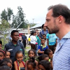 The Crown Prince in Timor Leste for UNDP 2015