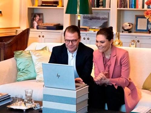 Sveriges Kronprinsesse Victoria og Prins Daniel. Foto: Sara Friberg, Kungl. Hovstaterna