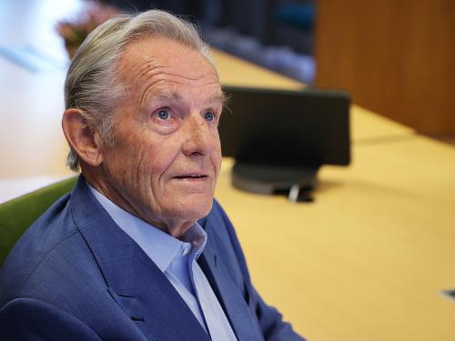 Tore Godal es un asesor especial en CEPI y en 2019 recibió la medalla del Rey por los esfuerzos de toda la vida por las vacunas y el trabajo de salud global.  Foto: Ørn E. Borgen, NTB scanpix