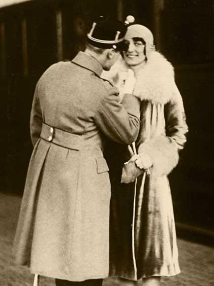 The Royal Wedding in 1929 - kongehuset no