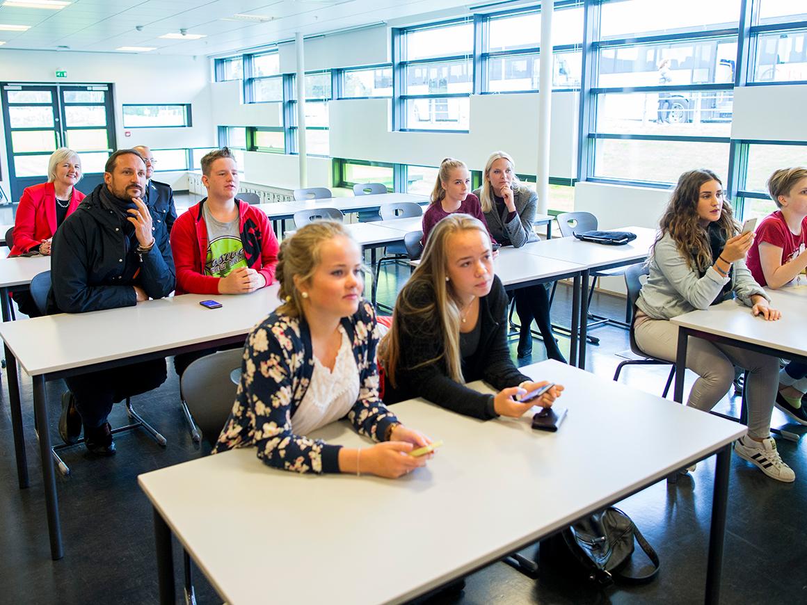 Fylkestur Til Akershus Tale I Gjerdrum Det Norske Kongehus