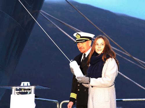 El Príncipe Heredero Haakon reunirá información que será una contribución importante a nuestro conocimiento de cómo el cambio climático afecta el mar y la vida allí.  Foto: Rune Kongsro / The Royal Court